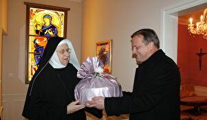 Posjet benediktinkama u povodu blagdana Sv. Stošije